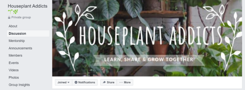 Houseplant Addicts Group